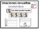 Spanish Scrambled Sentences for November