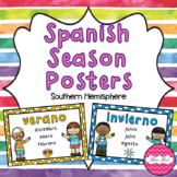 Spanish Season Posters- Southern Hemisphere