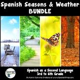 Spanish Seasons and Weather Bundle