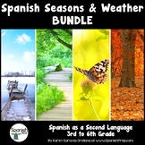 Spanish Seasons and Weather Bundle