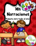 In Spanish / Writing Prompts BUNDLE {Mis Narraciones / Paquete para todo el año}