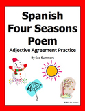 Spanish Seasons Bilingual Poem and Activities