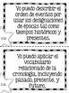 "Spanish Second Grade Social Studies TEKS ""Yo Puedo"" Statements"