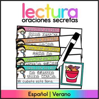 Spanish Secret Sentences Summer - Oraciones Secretas Verano