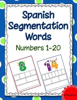 Spanish Segmentation Words-Numbers 1-20