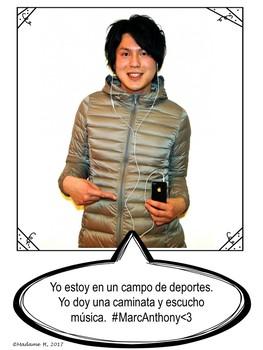 Spanish Selfie Project Bundle