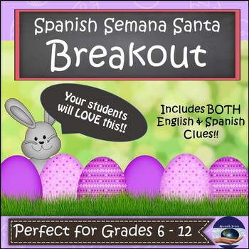 Spanish Semana Santa (Holy Week) - Pascua (Easter) Breakout EDU
