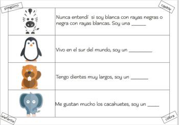 Spanish Sentence Building Colour Workbook K3-K6