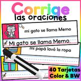 Spanish Sentence Center- Centro de Corregir Oraciones