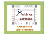 Spanish Regular Verbs (AR, ER, IR) Sentence Formation Practice Activity