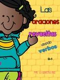 Spanish Sentence Scrambled (verbs)  / Oraciones revueltas