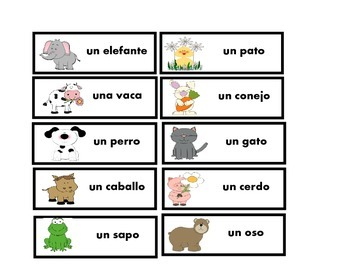 Spanish Sentence Stems