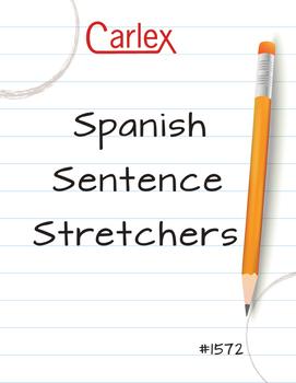 Spanish Sentence Stretchers - Digital Files