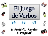 Spanish Sentence Writing Activity : Regular and Irregular Preterit