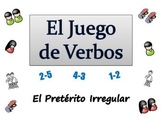 Spanish Sentence Writing Activity with  Irregular Preterit (ppt)