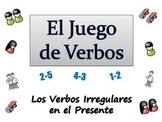 Spanish Sentence Writing Activity with  Irregular Verbs (Powerpoint)