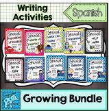 Spanish Sentence Writing Station Activities Bundle