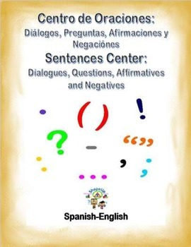 Spanish Sentences: Affirmatives, Negatives, Questions and Dialogues in a Station