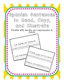 Spanish Sentences to Read, Copy, and Illustrate