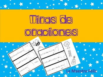 Spanish Sentences with high frequency words / Cortar y peg
