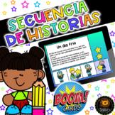 Spanish: Sequencing (Secuencia de Historias) Distance Learning