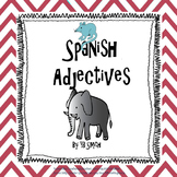Spanish Ser Adjective PICTURE Notes Powerpoint