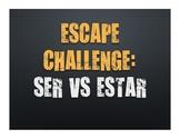 Ser Vs Estar Escape Challenge
