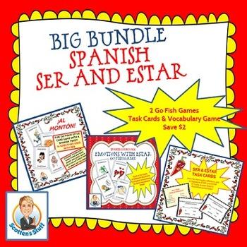 Spanish Ser and Estar Bundle
