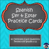 Spanish Ser and Estar Practice Cards