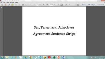 Spanish Ser, tener, and Adjectives Agreement - Así se dice 1