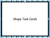 Spanish Shape/Array Task Cards