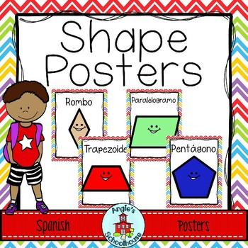 Spanish Shape Posters