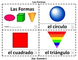 Spanish Shapes 2 Emergent Reader Booklets - Las Formas
