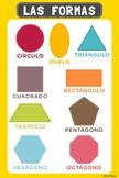 Spanish Shapes Poster / Cartulina de Las Formas en Español