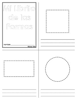 Spanish Shapes Song and Booklet