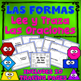 Spanish Shapes Tracing - Spanish High Frequency Words and Sentences -Las Formas