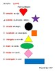 Spanish Shapes and Colors Worksheet