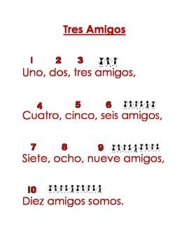 Spanish Shared Read - Tres Amigos