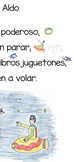 Spanish Shared Reading Poem to Introduce the A Vowel
