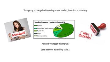 Spanish Shark Tank -- Create a Spanish Business