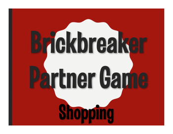 Spanish Shopping Brickbreaker Game