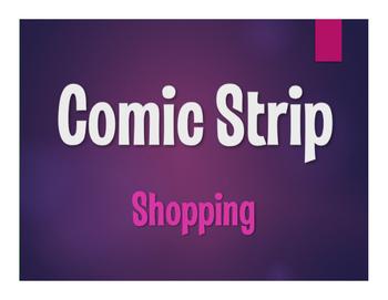 Spanish Shopping Comic Strip