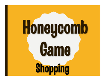 Spanish Shopping Honeycomb Game