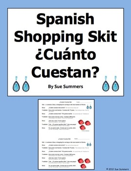 Spanish Shopping Skit - Cuanto Cuestan and Demonstrative A