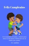 Spanish Short Story 1/2- Feliz Cumpleaños- Present tense +