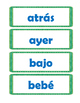 Spanish Sight Word