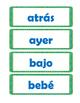 Spanish Sight Word