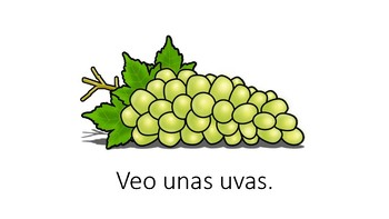 Spanish Sight Word U Book