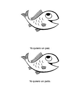 Spanish Sight Word Book: Yo Quiero Un (Level A)