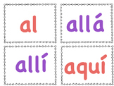 Spanish Sight Word Cards: Aligned w/ENIL